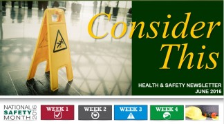 H&S 2016 June Newsletter