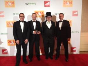 From left: Nigel Goulding, Andrew Patz, Mark Zweig, and William Egan.