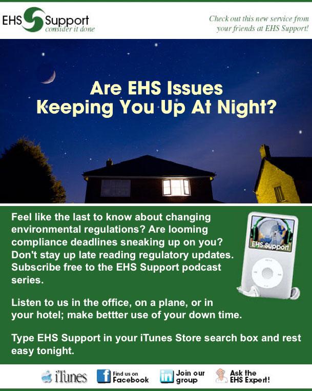 2010 client alerts ehs support. Black Bedroom Furniture Sets. Home Design Ideas