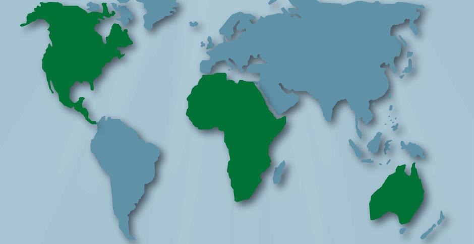 EHS World Map